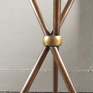 Copper Tripod Table