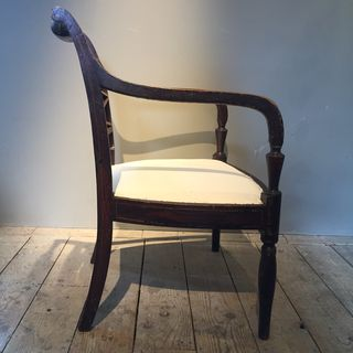 Painted Regency Chair