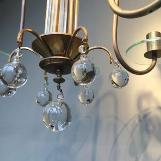 Chandelier With Glass Balls