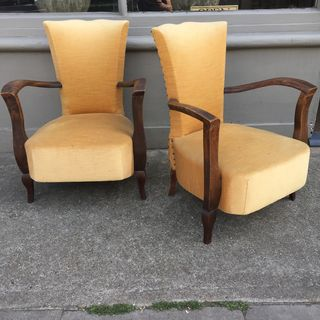 Open Armchairs