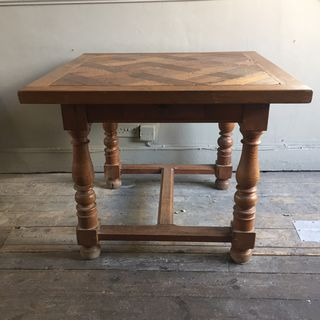 Square Parquetry Table