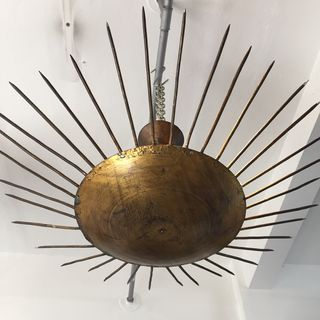 Spanish Sunburst Ceiling Lights