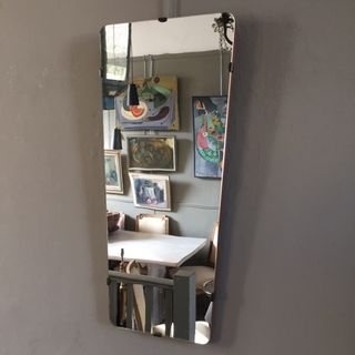 1950s Tapered Mirror