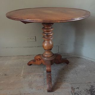 Walnut Tilt Top Table