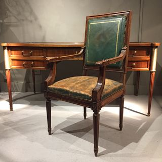French Desk and Desk Chair
