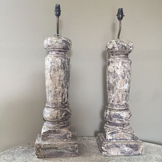 Painted Lamp Bases