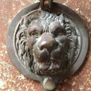 Massive Georgian Door Knocker