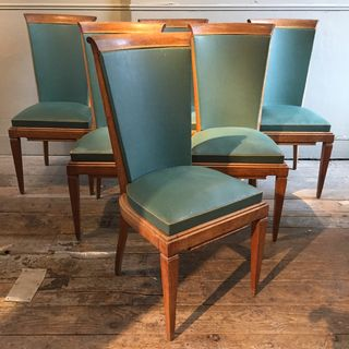 Set of Six Dinning Chairs
