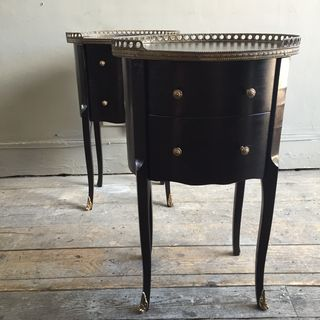 Ebonised Side Tables