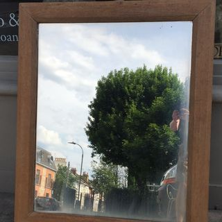 Oak Framed Mirror