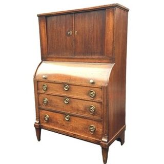 Chest of Drawers with Cylinder Top & Tambour Front