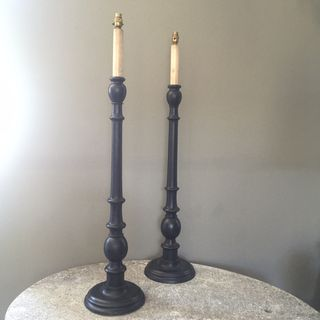 Tall Turned Lamps