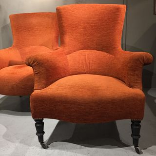 Pair of Napoleon III Armchairs