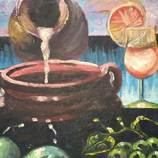 Pouring Jug Painting