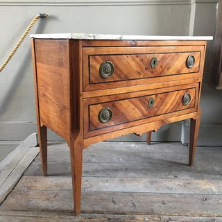 18th Century Fruitwood Commode