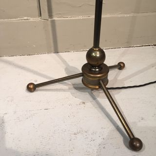 Floor Lamp With Balls On Feet.